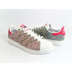 STAN SMITH LOGO ROSA CUSTOM...