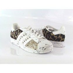 ADIDAS SUPERSTAR GOLD JAGUAR
