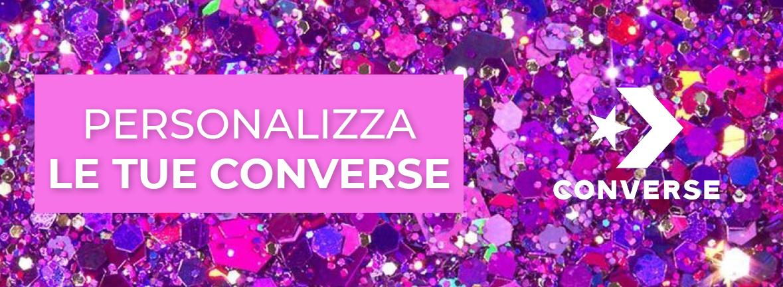 Personalizza le tue CONVERSE